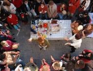 Christmas popular zambombas in Jerez. JEREZ DE LA FRA. PHOTO: OPTA/ Jorge Garrido